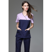 9659112de0c 2017 Women's V Neck Short Sleeve Surgical Or Medical Scrub Clothes Sets  Uniforms New fancy design medical scrub uniforms