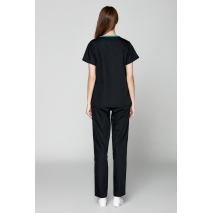 2018 Limited Autumn Women's Medical Scrubs Ladies' Short Sleeve Scrub Uniforms Set Dental Clinic Fancy Design Surgical Clothes