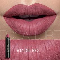FOCALLURE 19 colors matte lipstick long lasting waterproof lip stick pencil matt lipstick nude velvet lips makeup