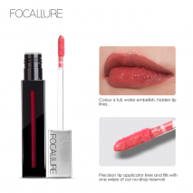 FOCALLURE 2018 3D New Cream Long Lasting Lip Stain Ins So Hot Volume Lipgloss Tint Beauty Sexy Lips Makeup
