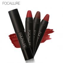 FOCALLURE Matte Lipstick Set Rich Color Velvet Waterproof High Pigment Make up Lipstick Pencil