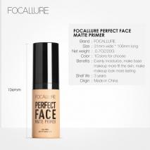FOCALLURE Professional Make Up Base Foundation Primer Makeup Cream Sunscreen Moisturizing Oil Control Face Primer