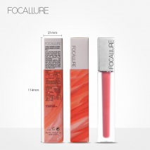 FOCALLURE Top Quality Lipstick Long-lasting Lip Make Up Ultra-matte Lip Stain Beauty Red Lips Batom Cosmetic Kiss  proof