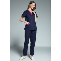 Surgical Cap 2017 New Women's Short Sleeve Medical Scrub Uniforms Set Dental Hospital Clothes Doctor's Surgiacl Working Uniform