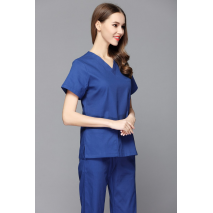 Women Sweater Medical Scrubs Man And Woman,women's Short Sleeve Scrub Uniforms Set Dental Hospital Clothes Doctor's Surgical
