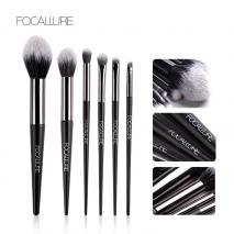 FOCALLURE 6 pcs Makeup Brush Set Professional High Quality Soft Cosmetics Blush Eyeshadow Brush for Makeup