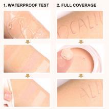 FOCALLURE Eye Concealer & Base 7 Colors Full Coverage Suit for All Color Skin Face/Eye Makeup Liquid Concealer